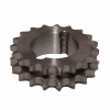 42-19 Sprocket - 1/2'' Pitch Duplex 19 Teeth - Taper Bush Ref 1210